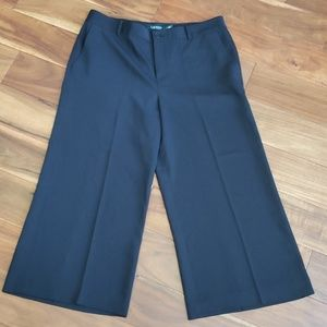 Ralph Lauren cropped wide leg pants sz 10